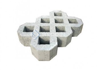 Gạch block trải thảm cỏ SRG-2